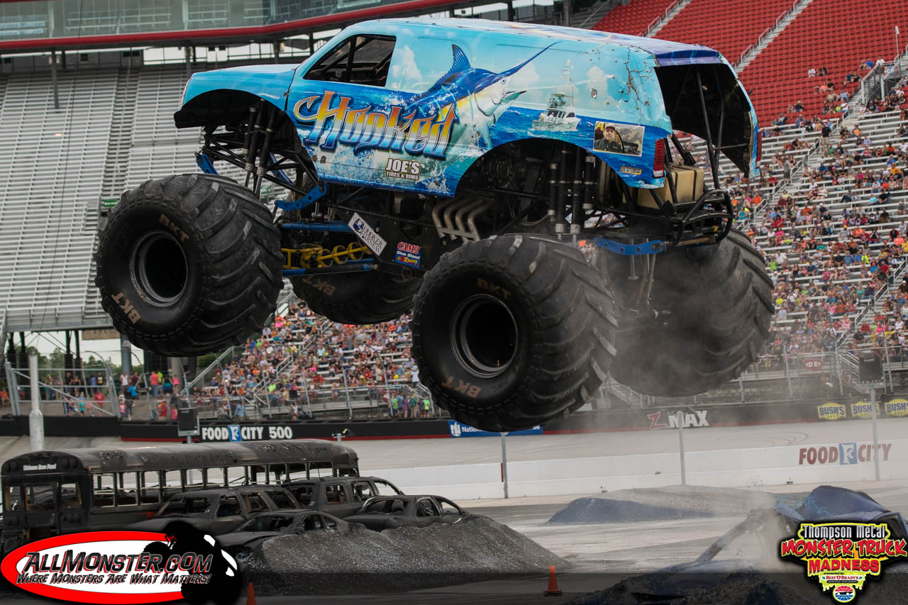 bristol tennessee thompson metal monster truck madness july