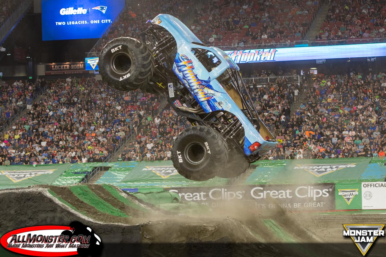 Foxborough, Massachusetts - Monster Jam - June 9, 2018