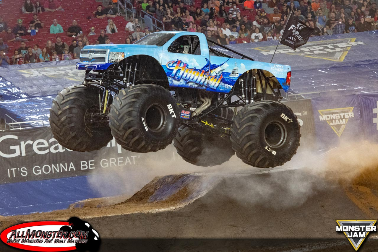 Glendale, Arizona - Monster Jam - October 6, 2018 - Hooked