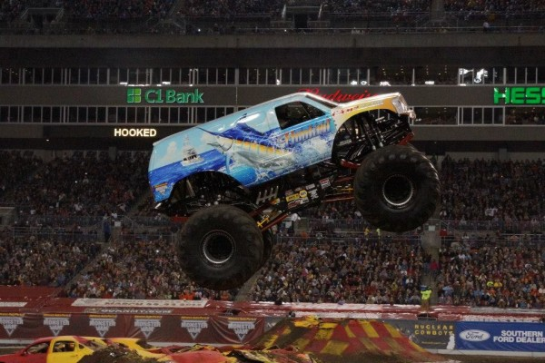 Tampa, Florida – Monster Jam – February 2, 2013