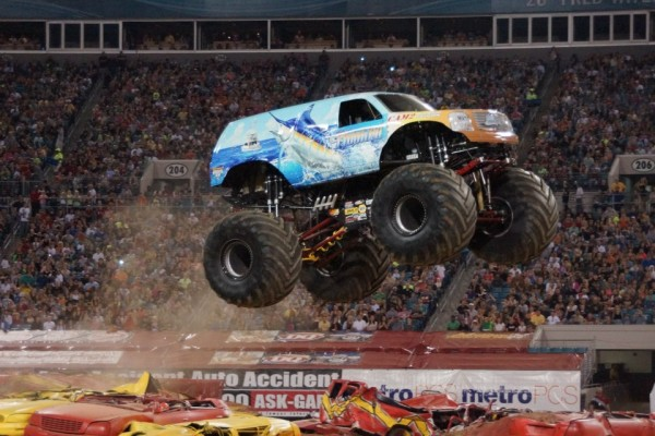 Jacksonville, Florida – Monster Jam – February 23, 2013