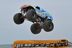Hooked Monster Truck - Monsters On The Beach 2012