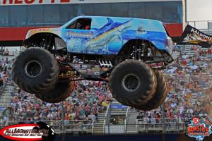 Hooked Monster Truck - Charlotte Back To School Bash 2012