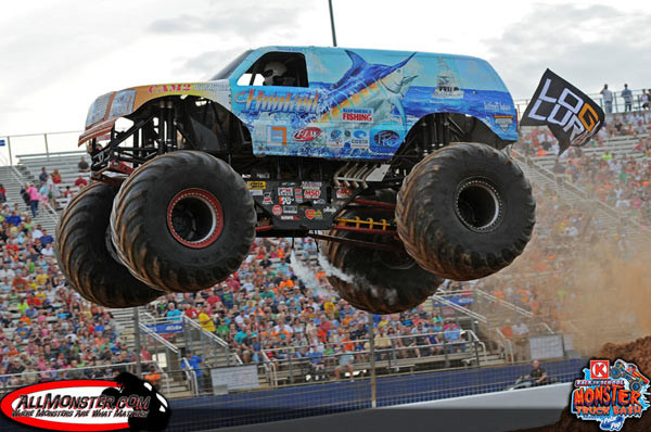 Hooked Battles Hard at Back to School Monster Truck Bash