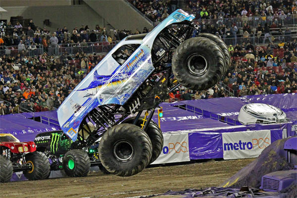 Hooked Monster Truck Returns to Tampa