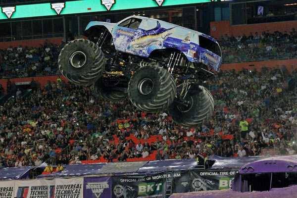 """I Love Florida Tour"" Continues For Hooked Monster Truck"