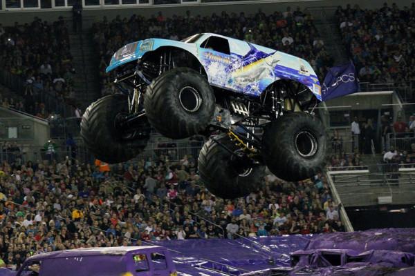 Tampa, Florida – Monster Jam – February 1, 2014