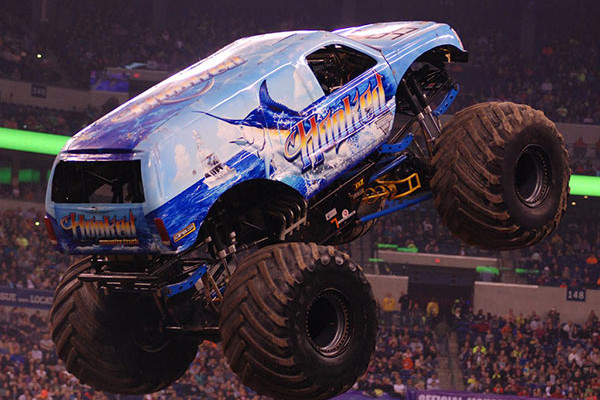 Hooked Monster Truck | Indianapolis Monster Jam 2015