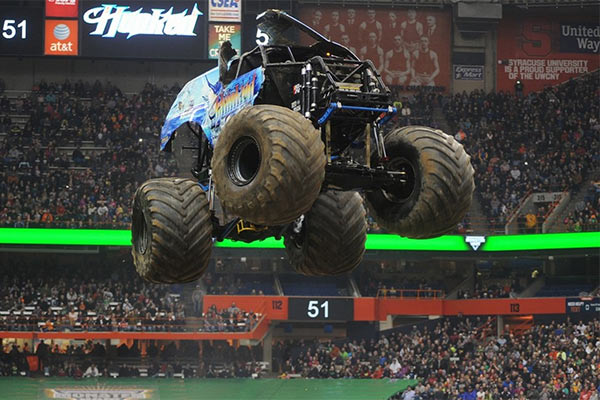 Monster Jam Fox Sports 1 Championship Series Wraps Up in Syracuse for Hooked